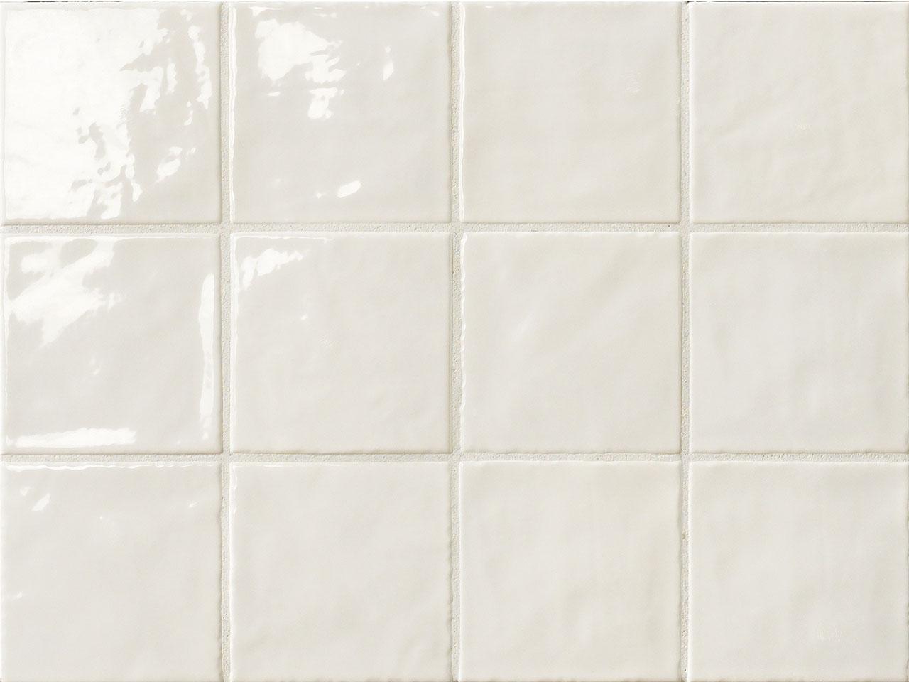 Piastrelle 15x15 Bianco Lucido Disegni Interni Ed Esterni