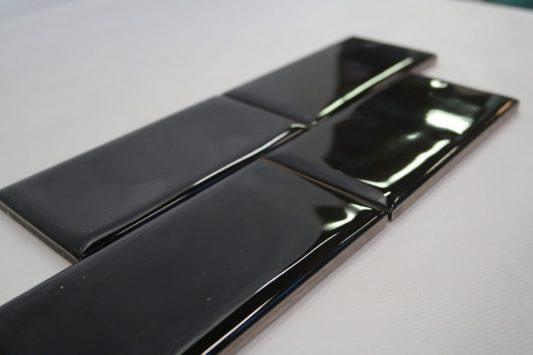 italiankaakeli.fi scandi cotton black glossy7.5x15cm