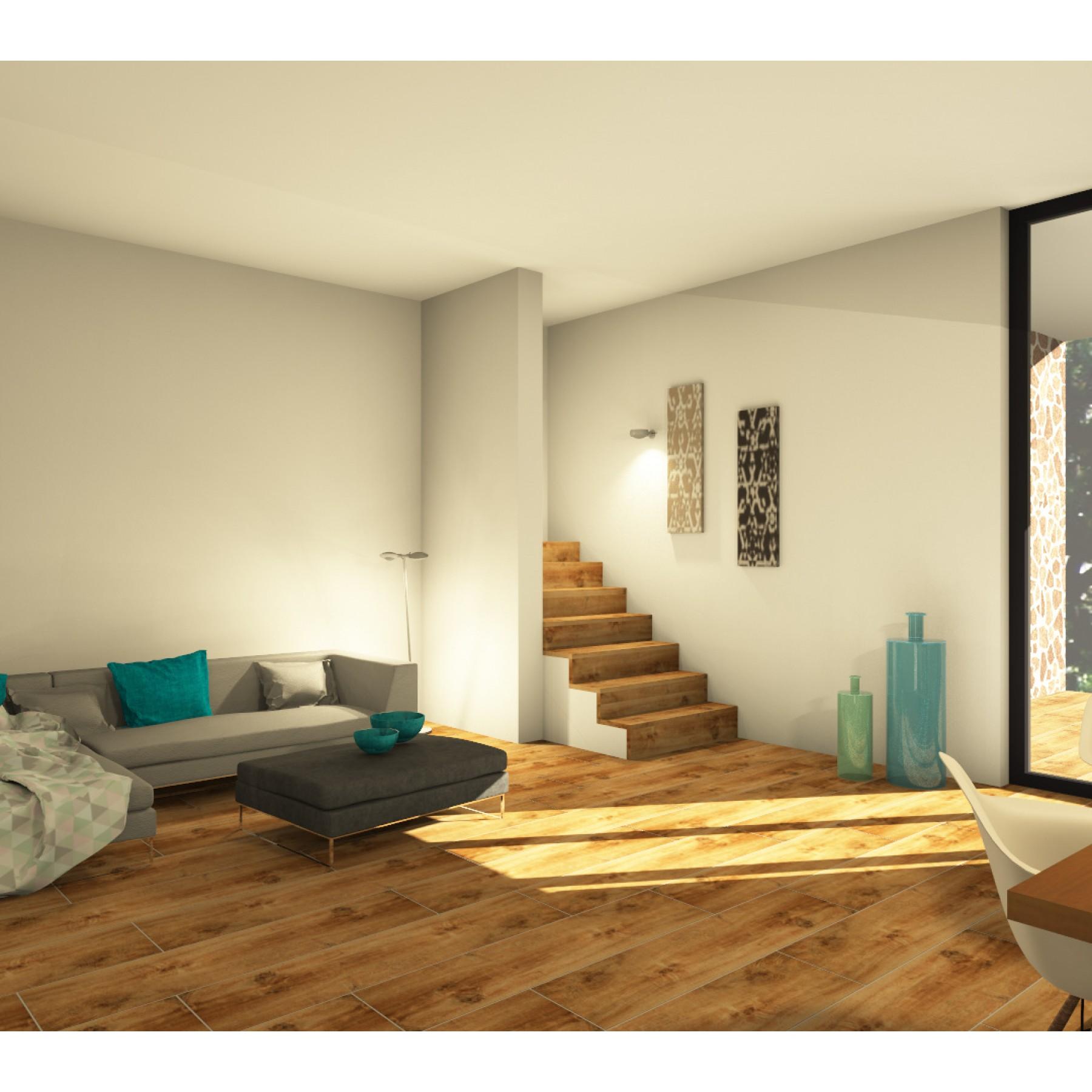 marazzi treverkhome larice 30x120cm italian kaakeli. Black Bedroom Furniture Sets. Home Design Ideas