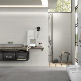 valkoinen seinälaatta Marazzi white lucido 20x50