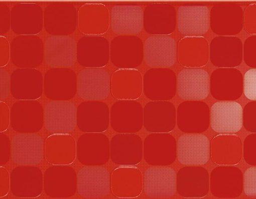punainen seinälaatta