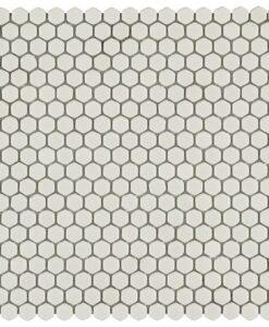 italiankaakeli hexacon white kuuskulam 6 mm arkin koko 29.5x29cm